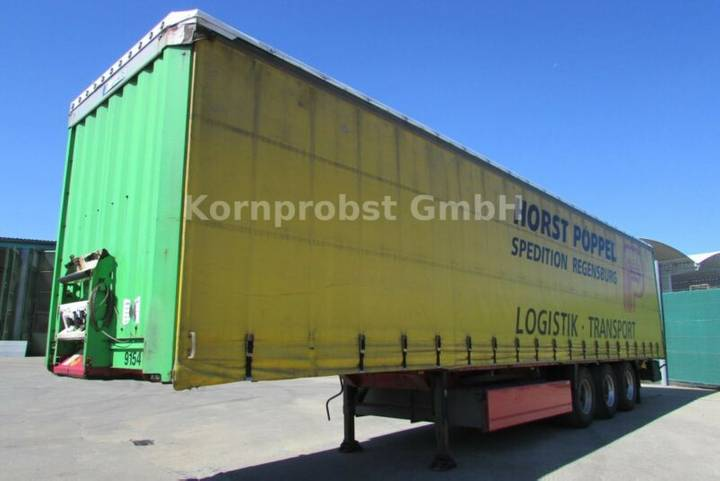 Krone SD - Tautliner LIFTACHSE Nr.: 880 - 2007