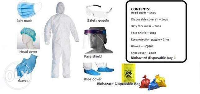 Personal Protective - PPE Kit full set.