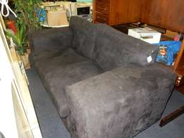 2 Seater Suede Couch