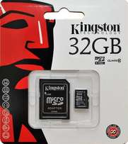 Kingston Digital 32GB Memory Card MicroSDHC Class 10 UHS-I 45MB/s Rea
