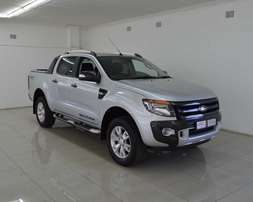 ford ranger 3.2xlt wildtrack 4x4 auto,full service history,accident fr