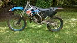 Tm 125cc race bike
