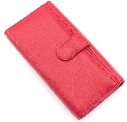 d9d1be8048c4 Красного цвета кожаный женский кошелек под карточки MARCO COVERNA Киев -  изображение 3