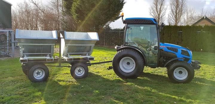 new agromac kantelbakkenwagen tractor