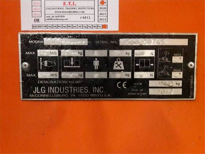 JLG 800aj - 1900 - image 2