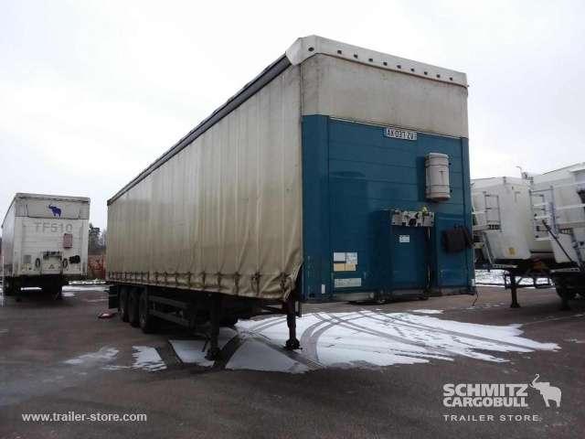 Schmitz Cargobull Semitrailer Rideaux Coulissant porte-bobines - 2008