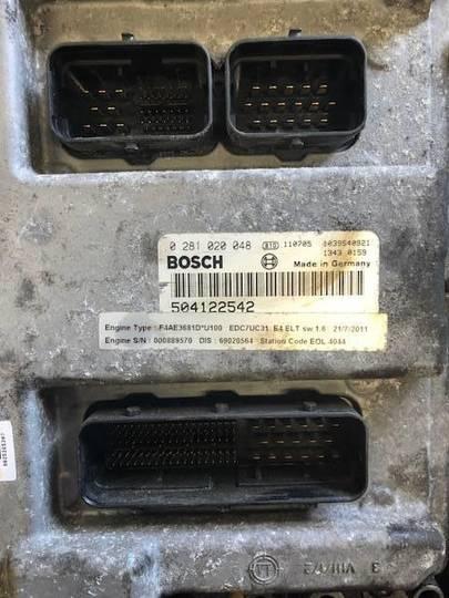 Iveco F4ae3681d Motorstyrring Ecu 504122542 - 2012