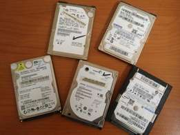 Hard Drives + PC Games