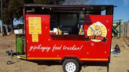 Fully equipped food trailer for sale - good business opportunity