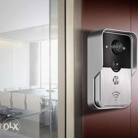 Wifi videophone with door open option
