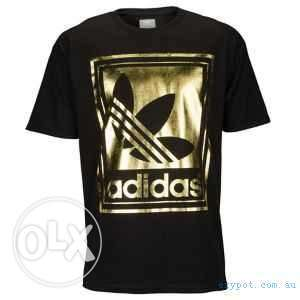 Adidas Gold Graphic T-Shirt for sale Brand new (Unused)