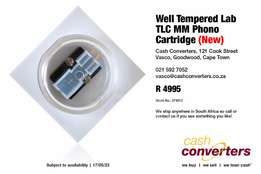 Well Tempered Lab TLC MM Phono Cartridge (New)