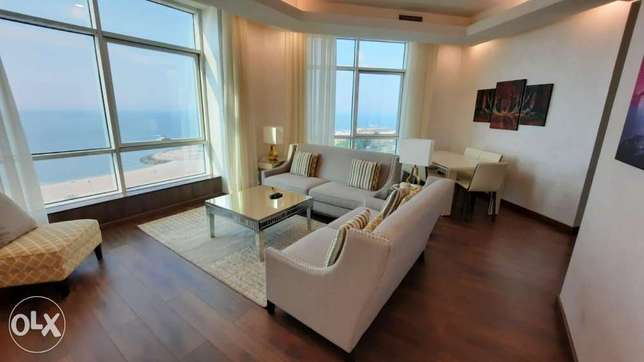 1 and 2 BR full sea view furnished or semi furnished