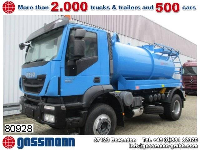 Iveco trakker 190et38h 4x2 abwasser tank kaiser moro