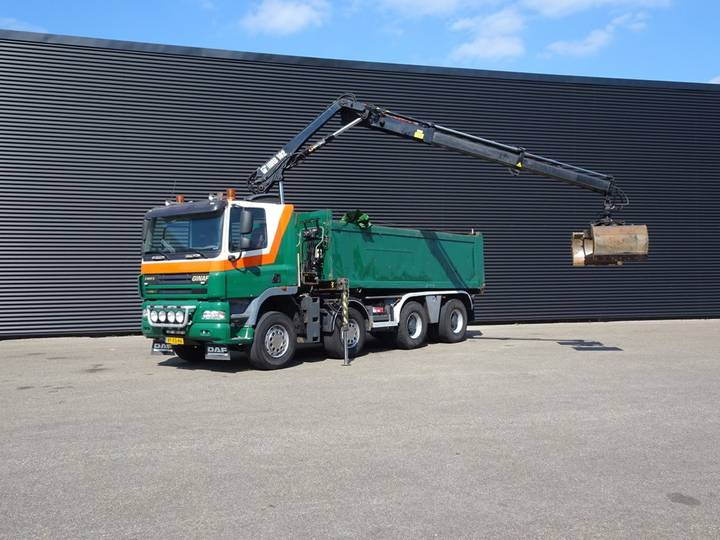 Ginaf X4241S EURO 5 / 8x4 TIPPER / CRANE / KRAN / 336 DKM - 2007