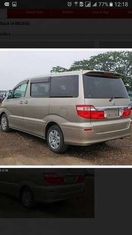 Toyota Alphard new still in the bond on sale at 38m negotiable Kampala - image 2