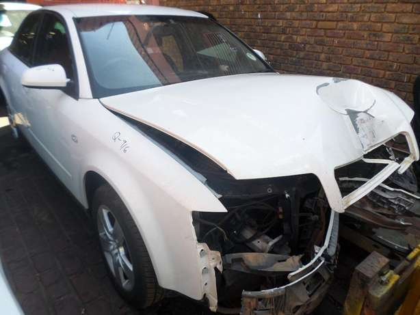 Audi A4 1.9 tdi stripping for spares at QUANTRO Pretoria West - image 1