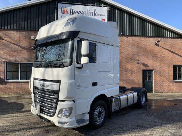 DAF Xf 106 460 Super Space 9 Ton Vooras Hydrauliek 164 - 2016