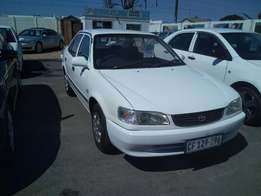 2001 Toyota Corolla with only 168000km