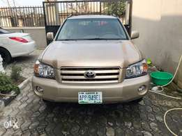 2005 TOYOTA HIGHLANDER for sale 1 Month used