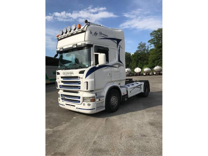 Scania R420 -MANUAL GEARBOX - 2007