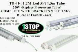 Special official T8 led tube 4ft /T8 LED Tube with intergrated housing
