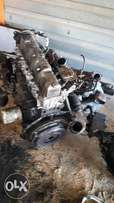 wl complete engene and gearbox for sale ford