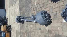 Mitsubishi fuso 26.340 front steering axle complete