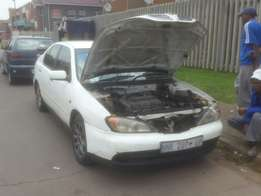 Nissan Primera Stripping for spares.
