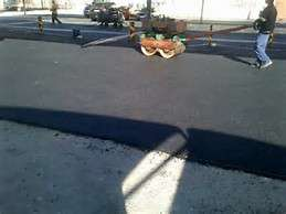 Tar surfacing,paving,concrete slabsgraveling and road markings
