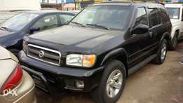 Registered Nissan Pathfinder 2003 Model, Auxiliary