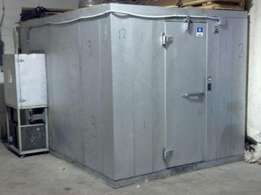 Cold room 3mx2mx1.6m with 5 HP Compressor and Fan blower for sale