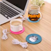 tiebeauty cute cartoon cup mat USB warm cup mat