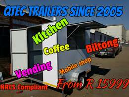 Brand New Vending Trailers