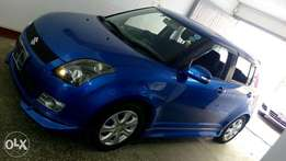 Suzuki swift sports blue metallic colour fully loaded