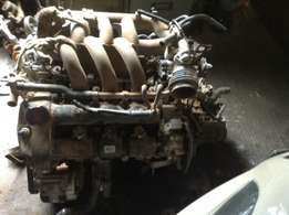 jaguar xtype 2.0v6 engine and gearbox R18000