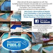 Stuart Campbell Pools - Swimming Pool Construction Company