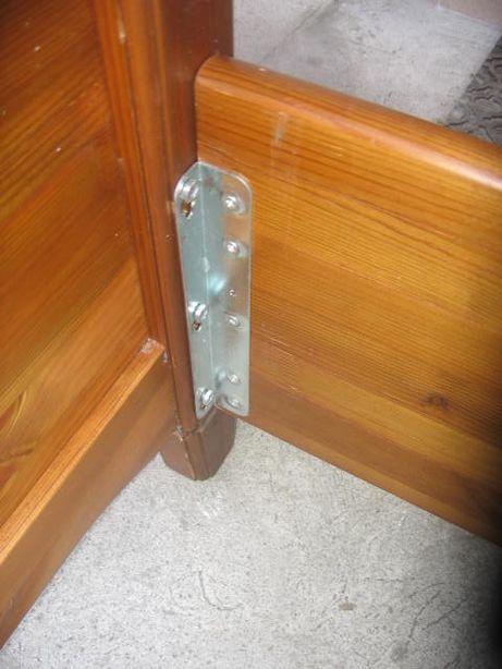 łóżko Lite Drewno 200x220 Cm Rama Stan Dobry Z Niemiec