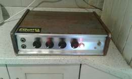 Antique PA Sound System working condition.