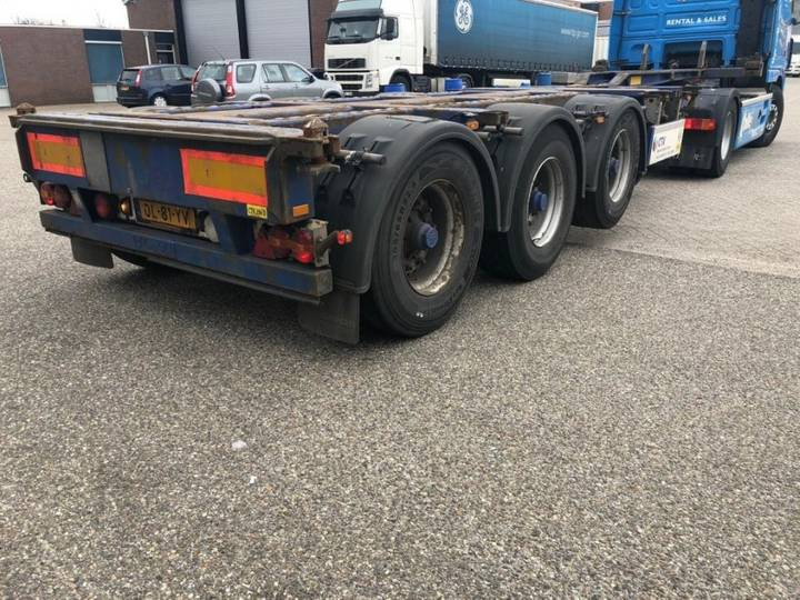Pacton Txc 343 - Multi Container Chassis - 20/30/40/45ft Gooseneck - 2007
