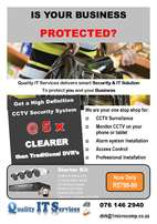 Protect your valuable assets with professional CCTV installation