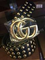 Gucci belt Gold Dot