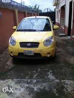 A Clean Kia Picanto for sale at Isolo Lagos.