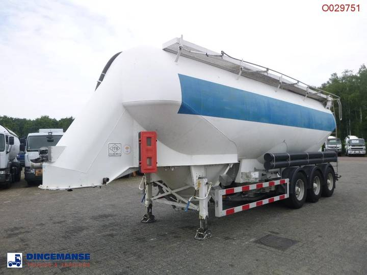 Feldbinder Bulk tank alu 46 m3 / 1 comp - 2019