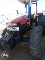 As good as new 2016 case 75 tractor 4wd inc plough.