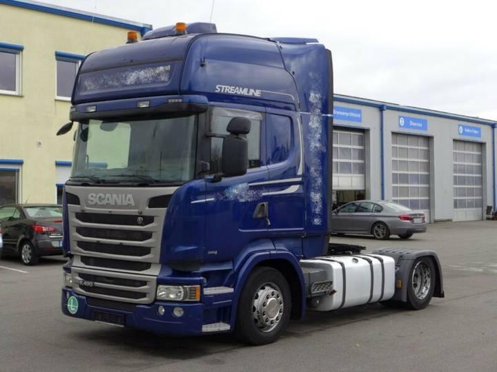 Scania R 490*Euro6*Retarder*Topline*Stand-Klima*450 410 - 2013