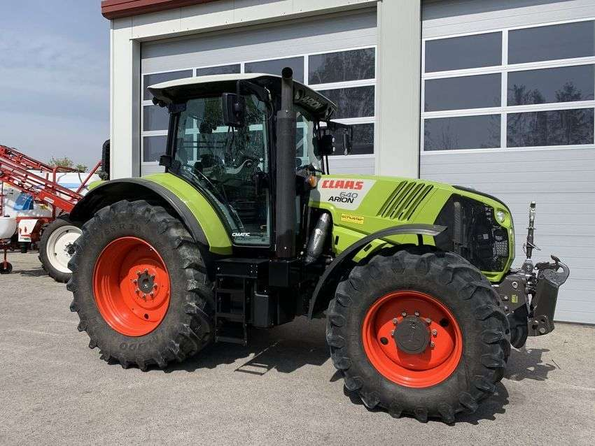 Claas arion 640 cmatic - 2017