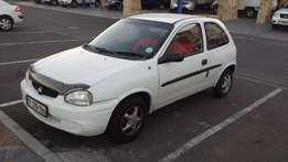 Opel Corsa 1.4i Lite ( 2001 ) Very neat and light on fuel.