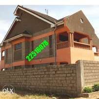 Double Storey 4 br house for sale in ruiru kimbo