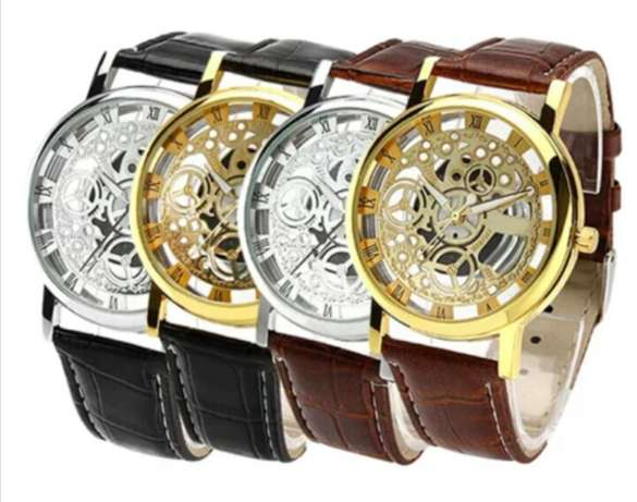 Brand New Hollow Skeleton Watches For Sale Amalinda - image 1
